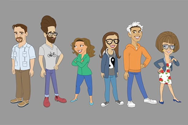 One Day at a Time animated