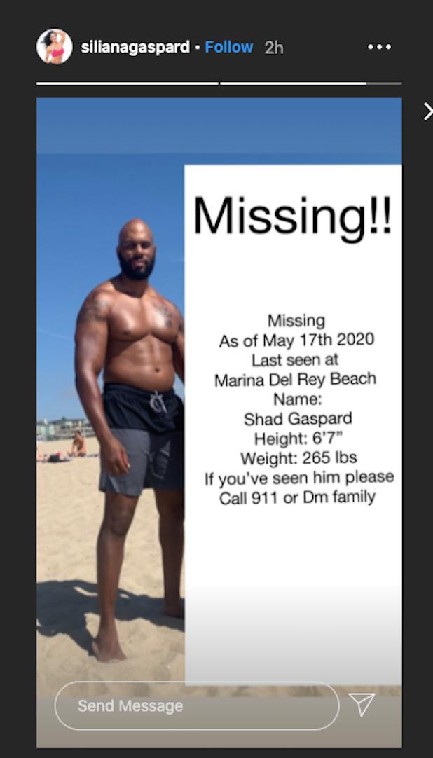 Shad Gaspard missing