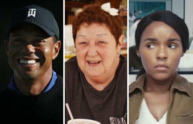 Tiger Woods Norma McCorvey Janelle Monae