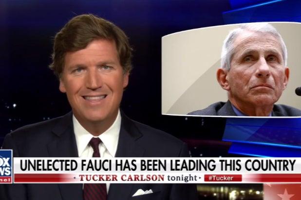 Tucker Carlson Rants About Dr Fauci, Calls Him a 'Buffoon' (Video)