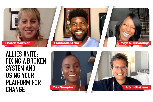 Webinar - Allies Unite: Fixing a Broken System and Using Your Platform for Change