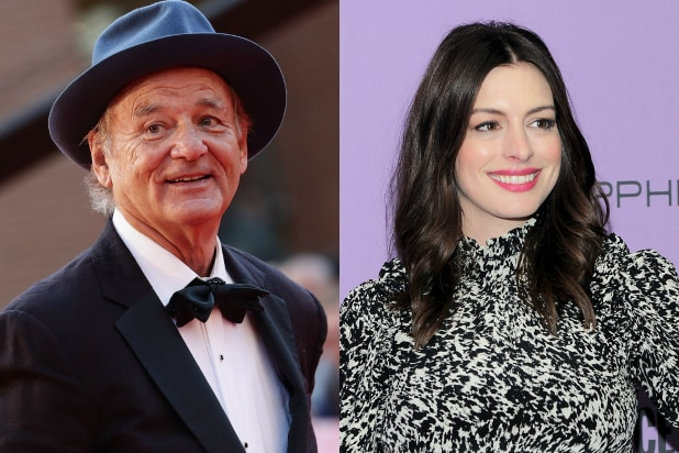 Bill Murray and Anne Hathaway