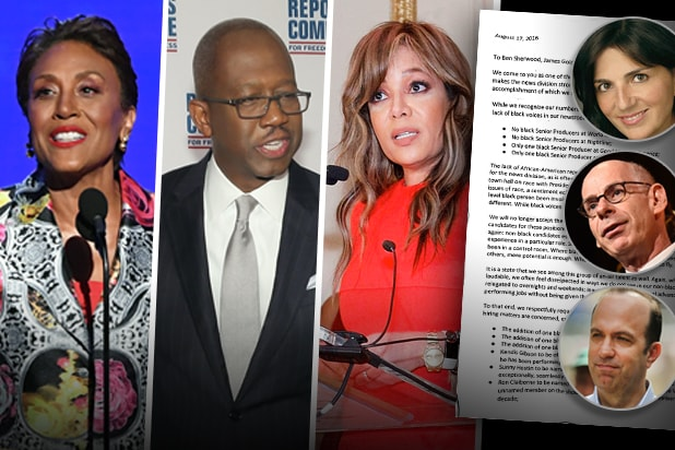 Black ABC News Journalists letter