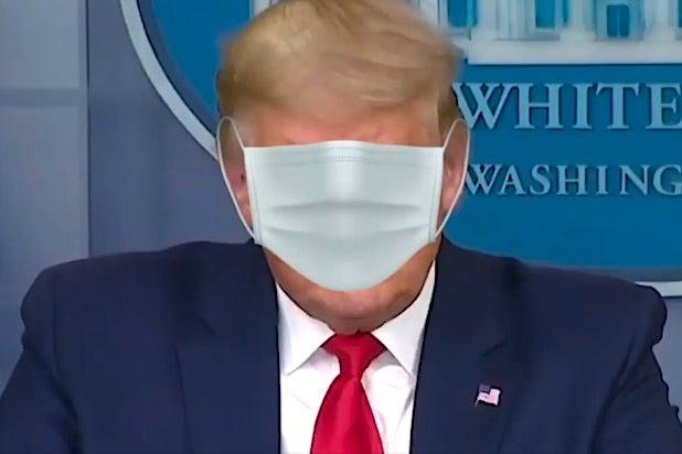 Donald Trump Mask COVID Coronavirus