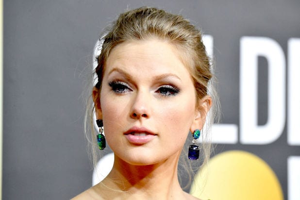 Taylor Swift at 77th Golden Globes