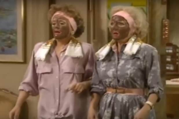 Golden Girls Blackface