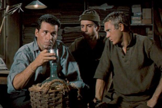 Great Escape James Garner Steve McQueen