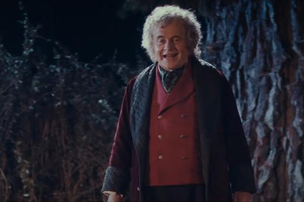 Ian Holm LOTR Bilbo Baggins