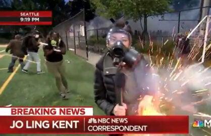 Mens Flock Tank Top Night Riots