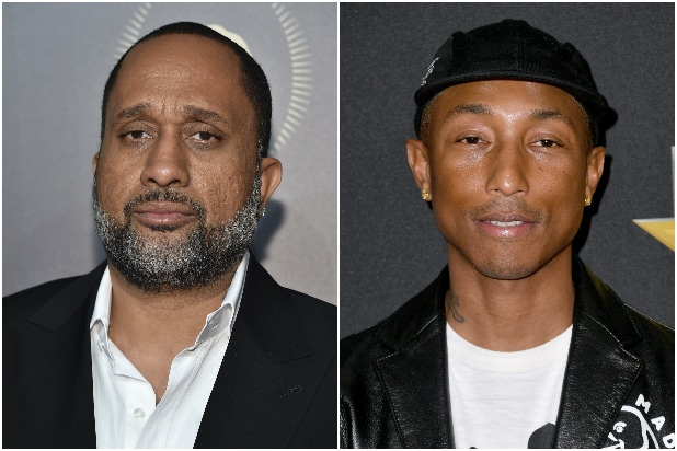 Kenya Barris Pharrell Williams