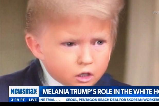 Kimmel Baby Trump Snapchat