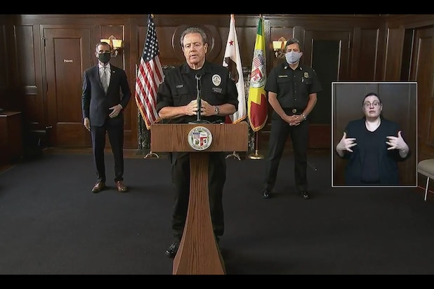 LAPD's Proposed Budget Increase Canceled, Millions in Further Cuts Likely, ...