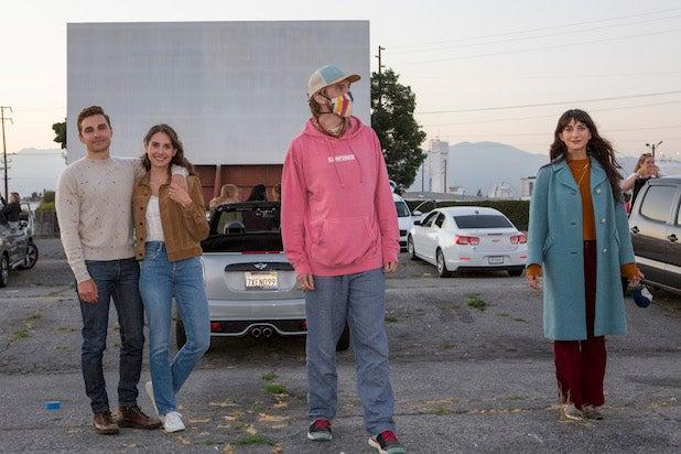 The Rental Drive-in Premiere Dave Franco Alison Brie Dan Stevens Sheila Vand