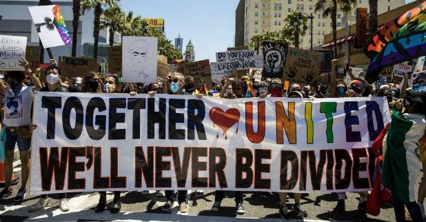 Tommy Oliver LA Pride March 1