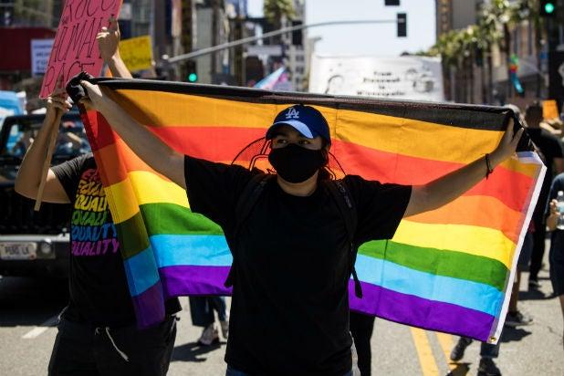 Tommy Oliver LA Pride March 7