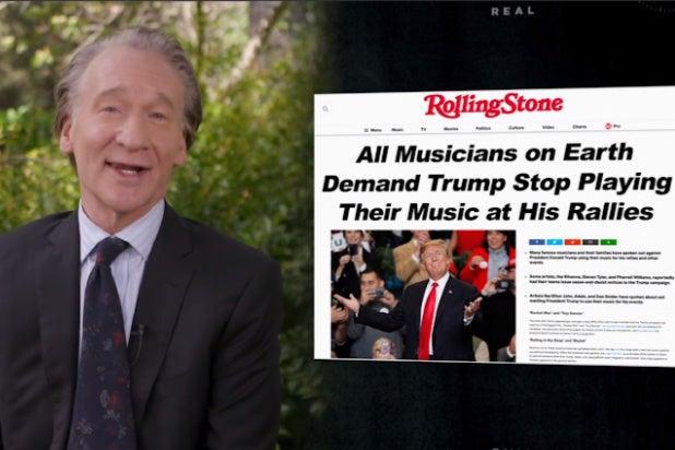 bill maher future headlines