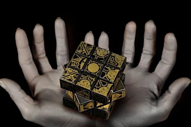 hellraiser Lament Configuration puzzle box Haunted Objects
