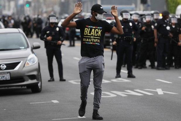 Los Angeles George Floyd Protest