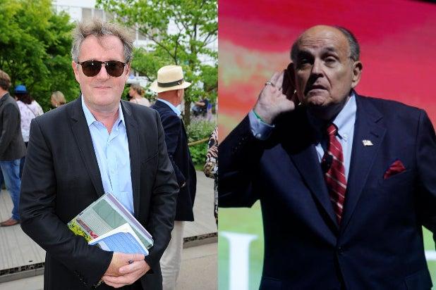 Piers Morgan Rudy Giuliani