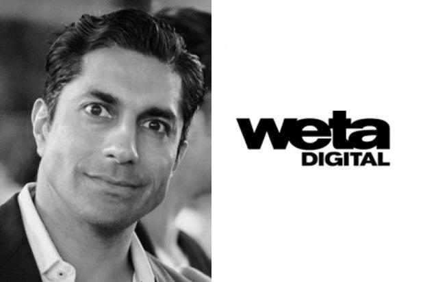 Prem Akkaraju/WETA Digital logo