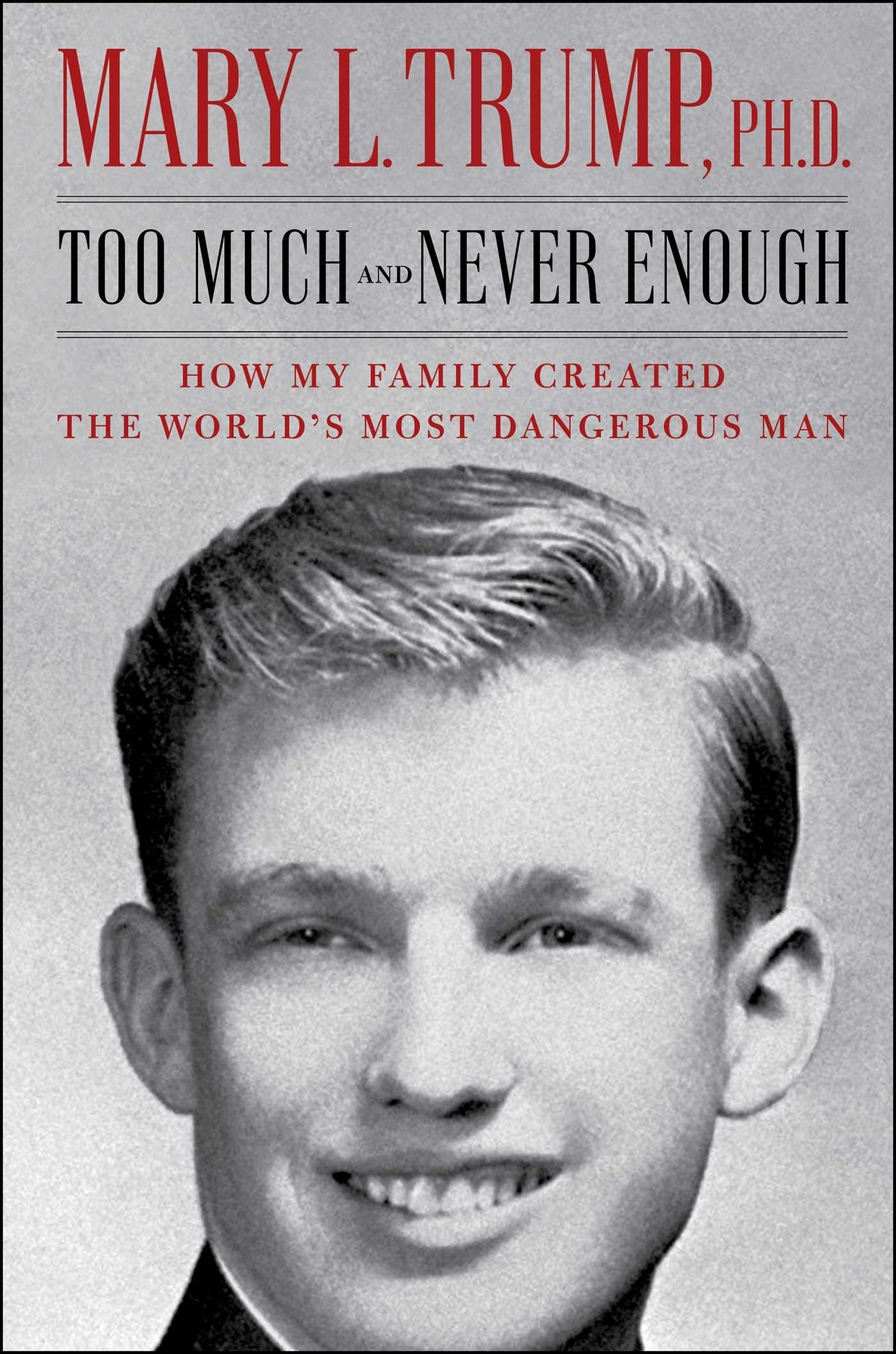 """Mary Trump's """"Too Much and Never Enough"""""""