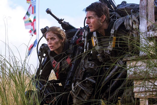 Edge of Tomorrow Live Die Repeat Emily Blunt Tom Cruise