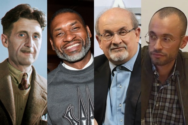 George Orwell Charles Blow Salman Rushdie Thomas Chatterton Williams