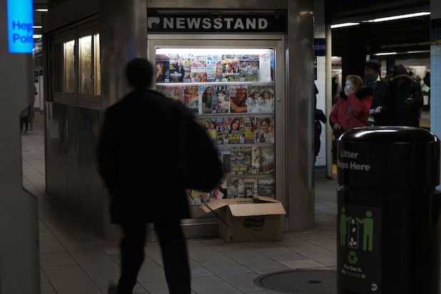 Newsstand in Brooklyn