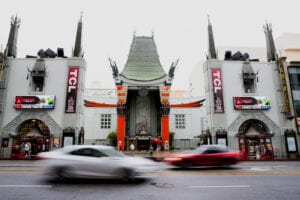 TCL Chinese Theatre Hollywood Blvd