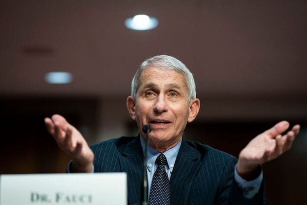 Anthony Fauci testifies before the Senate