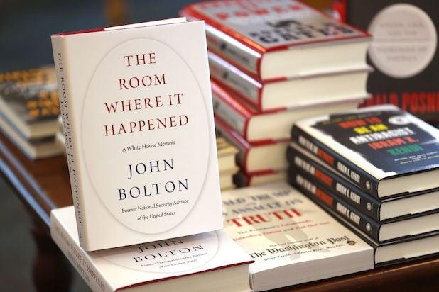 John Bolton's book