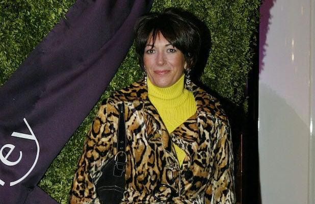 Ghislaine Maxwell in 2003