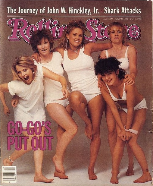 Go-Go's Rolling Stone Cover 8-5-82