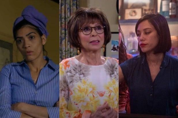 Laura Gomez, Rita Moreno, Mishel Prada