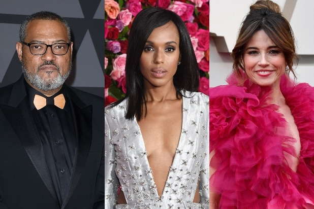 Laurence Fishburne, Kerry Washington, Linda Cardellini
