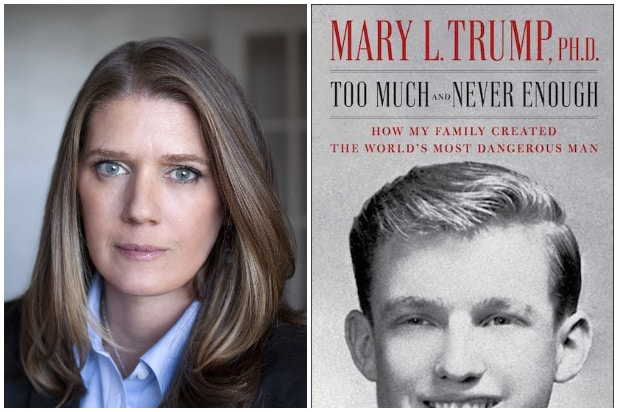 "Release Date for Mary Trump's Tell-All Book Pulled Forward to Next Week After ""Extraordinary Interest"" Shown"