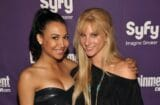 Naya Rivera Heather Morris Glee