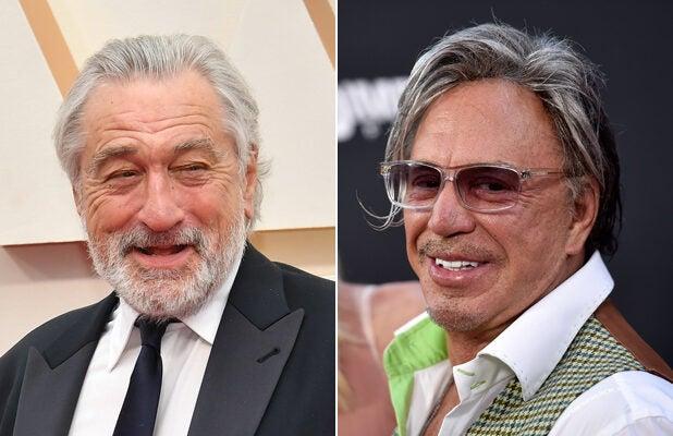 Mickey Rourke Threatens Punk Ass Robert De Niro On Instagram