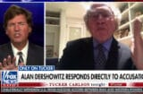 alan dershowitz tells tucker carlson that epstein may have paid the prison guards to let him kill himself