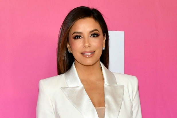 eva longoria spa day