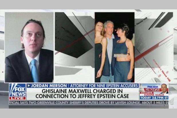 Fox News Crops Donald Trump Jeffrey Epstein Ghislane Maxwell