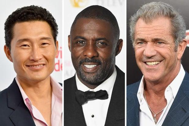 Daniel Dae Kim Idris Elba Mel Gibson