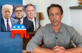 late night with seth meyers trump wants to incinerate american democracy