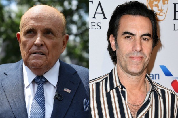 Rudy Giuliani Says He Called the NYPD on Sacha Baron Cohen After Prank Interview