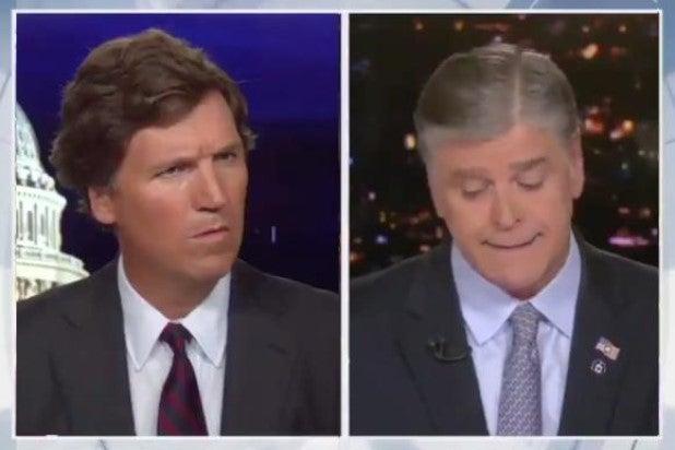 Tucker Carlson Sean Hannity