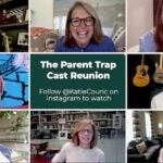 Katie Couric The Parent Trap Reunion Lindsay Lohan Dennis Quaid Nancy Meyers