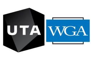 UTA WGA logos