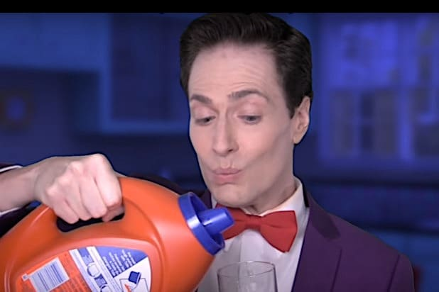 Randy Rainbow clorox Trump