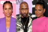 Alicia Keys Christina Milian Jay Pharoah