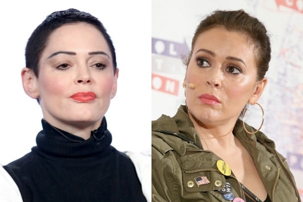Alyssa Milano Rose McGowan Charmed